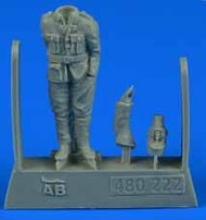 AeroBonus by Aires  1/48 WWI French Pilot #2 (Standing, one Hand in Pocket other behind Back) ABN480222