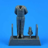 AeroBonus by Aires  1/72 WWII German Submarine Type VIIC Kriegsmarine Ceremony Sailor #3 for TSM ABN480231