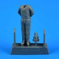 AeroBonus by Aires  1/48 WWII German Submarine Type VIIC Kriegsmarine Ceremony Sailor #4 ABN480232