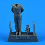 AeroBonus by Aires  1/48 WWII German Submarine Type VIIC Kriegsmarine Ceremony Sailor #6 ABN480234
