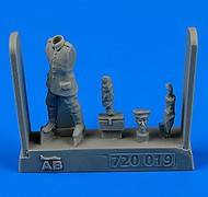 Aerobonus  1/72 WWI German & Austro-Hungarian Aircraft Mechanic 1914-18 (Carrying Tool Box) ABN720019
