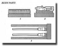 Aires  1/32 MG.151 20mm German a/c Gun AHM2022