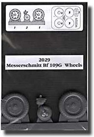 Aires  1/32 Bf.109G Wheels & Paint Masks AHM2029