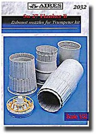 Aires  1/32 Su-27 Flanker B Exhaust Nozzles AHM2032