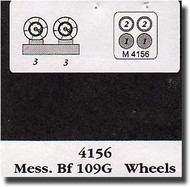 Aires  1/48 Bf.109G Wheels & Mask AHM4156