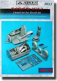 Aires  1/32 He.162A-2 Salamander detail set AHM2033