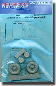 Aires  1/32 Ju.87 Wheels and Paint Mask AHM2048