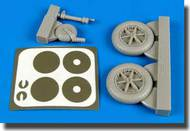 Aires  1/32 Messerschmitt Bf.109F Wheels & Paint Masks AHM2138