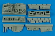 Aires  1/32 MiG-23ML Flogger G Electronic Bay For TSM (D)<!-- _Disc_ --> AHM2184