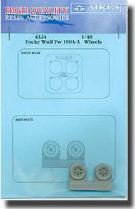 Aires  1/48 Fw.190A-3 Wheels and Paint Mask AHM4324
