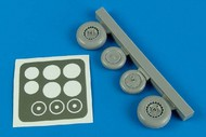 Aires  1/48 Me262A Wheels & Paint Masks For HBO AHM4540
