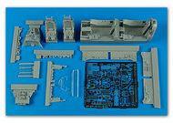 Aires  1/48 F-105G Thunderchief Cockpit Set For RMX (D)<!-- _Disc_ --> AHM4546