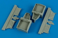 Aires  1/48 F4U-4 Wheel Bay For HBO (Resin) (D)<!-- _Disc_ --> AHM4572