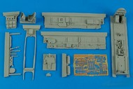 Aires  1/48 Bf.110D-3 Cockpit Set For DML (D)<!-- _Disc_ --> AHM4586
