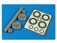 Aires  1/48 S2F Tracker Wheels & Paint Masks For KIN AHM4593