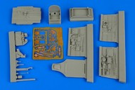 Aires  1/48 P-40M Kitty Hawk Cockpit Set For HBO (D)<!-- _Disc_ --> AHM4599