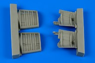 Aires  1/48 Jas-39A/C Gripen Speed Brakes For KTY (Resin) (D)<!-- _Disc_ --> AHM4624