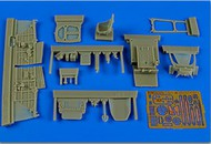 Aires  1/48 La-5F/FN Cockpit Set For ZVE (D)<!-- _Disc_ --> AHM4629