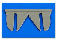 Aires  1/48 I-16 Control Surfaces For EDU (Resin) (D)<!-- _Disc_ --> AHM4651