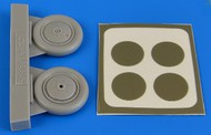 Aires  1/48 I153 Chaika Wheels & Paint Masks For ICM AHM4692