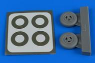 Spitfire Mk IX 3-Spoke Wheels & Paint Masks For EDU #AHM4798