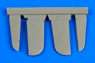Aires  1/72 Hawker Typhoon IB Control Surfaces For ARX (Resin) (D)<!-- _Disc_ --> AHM7315