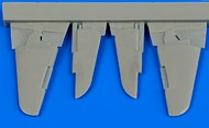 Aires  1/72 Yak-3 Control Surfaces For ZVE (Resin) (D)<!-- _Disc_ --> AHM7335