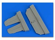 Bf.109G6 Control Surfaces For TAM (Resin) #AHM7371