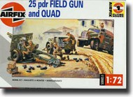 Airfix  1/72 25 Pdr. Gun and Tow WW II ARX1305