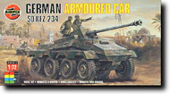 Airfix  1/72 German Armored Car Sd.Kfz.234 w/ 75mm Gun - Pre-Order Item ARX1311