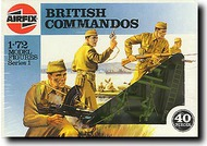 Airfix  1/72 British Commandos WW II ARX1732
