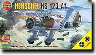 Airfix  1/72 Henschel Hs.123A-1 - Pre-Order Item ARX2051