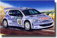 Airfix  1/24 Peugeot 206 WRC ARX7404