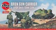 Airfix  1/76 Bren Gun Carrier and 6 pdr Anti-Tank Gun 'Vintage Classic series' ARX1309V