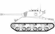 M4A3(76)W Sherman Battle of the Bulge - Pre-Order Item ARX1365