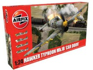 Airfix  1/24 Hawker Typhoon Mk Ib Car Door Fighter ARX19003