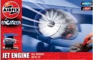 Airfix  Unknown Jet Engine Working Model Kit w/Sound & Lights ARX20005