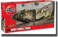 Airfix  1/76 WWI Female Tank - Pre-Order Item ARX2337