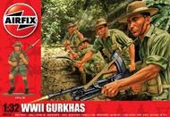 Airfix  1/32 WWII Gurkhas Figure Set (D)<!-- _Disc_ --> ARX2719