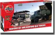 Airfix  1/76 Bedford QL Trucks - QLT and QLD v1 Military Truck (New Tool) ARX3306