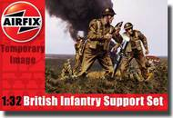 Airfix  1/32 British Infantry Support Figure Set (Re-Issue) ARX4710