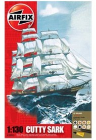 Airfix  1/130 Cutty Sark Sailing Ship Gift Set w/paint & glue ARX50045