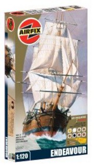 Airfix  1/120 Endeavour 250th Anniversary (Starter or gift sets) - Pre-Order Item ARX50047