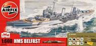 Airfix  1/600 HMS Belfast (Starter or gift sets) - Pre-Order Item ARX50069