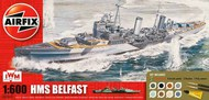 Airfix  1/600 HMS Belfast (Starter or gift sets) ARX50069