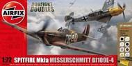 Supermarine Spitfire Mk.IA / Messerschmitt Bf.109E Dogfight #ARX50135