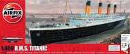 Airfix  1/400 R.M.S Titanic Gift Set. Includes glue, paints, and brushes ARX50146A