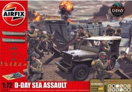 Airfix  1/72 D-Day Sea Assault Gift Set w/Paint & Glue - Pre-Order Item ARX50156