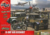 Airfix  1/72 D-Day Air Assault Gift Set w/Paint & Glue (Re-Issue) ARX50157