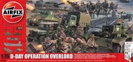 Airfix  1/76 D-Day 75th Anniversary D-Day Operation Overlord Giant Gift Set ARX50162A